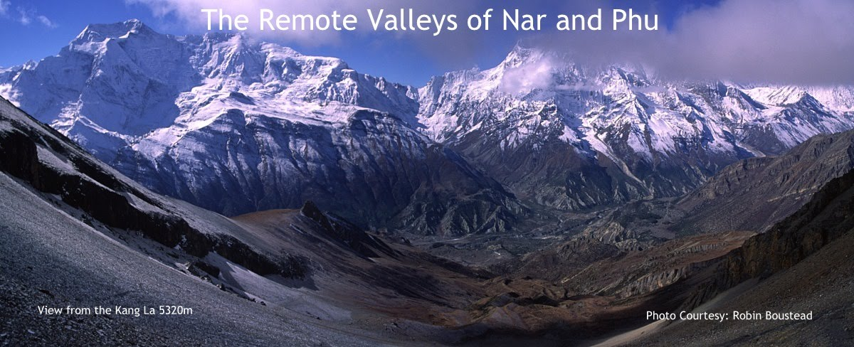 Nar Phu Valleys of Nepal Sept 30-Oct 10 2015